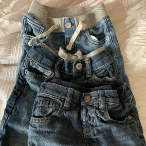 Set of 3 GAP baby jeans